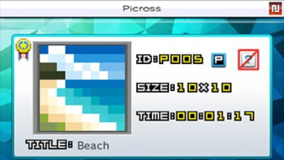 Picross e7 Screenshot 1
