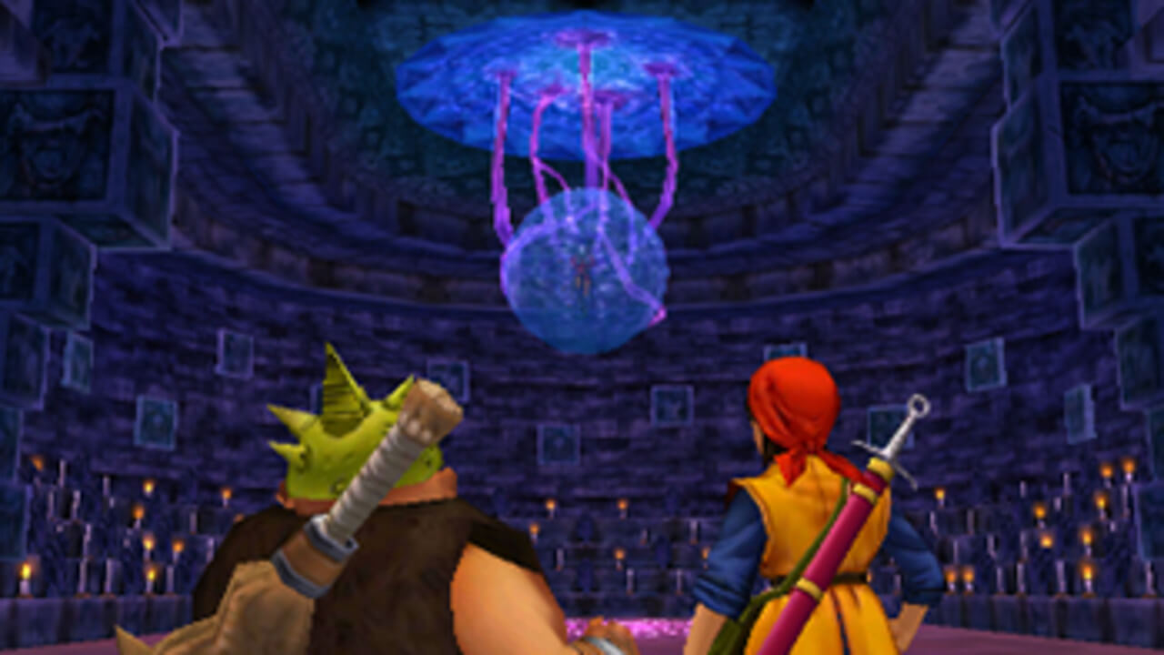 Dragon Quest VIII: Journey of the Cursed King Masthead