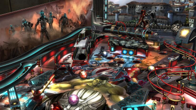 ZEN Pinball 2: Marvel's Avengers: Age of Ultron Screenshot 1
