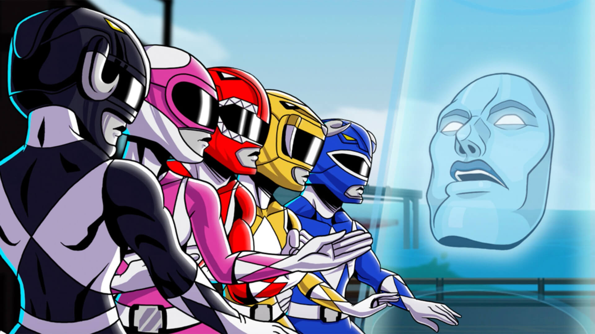 Saban's Mighty Morphin Power Rangers: Mega Battle Masthead