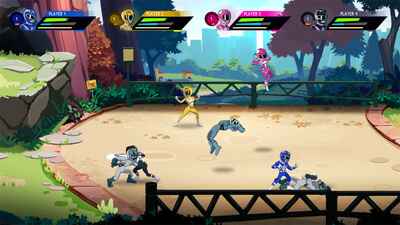 Saban's Mighty Morphin Power Rangers: Mega Battle Screenshot 2