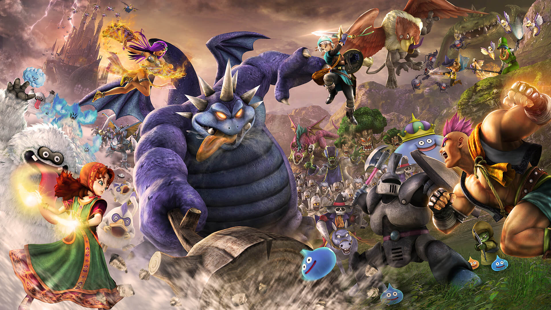 Dragon Quest Heroes 2 Masthead