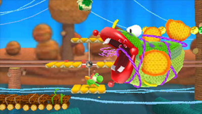 Poochy & Yoshi's Woolly World Screenshot 1