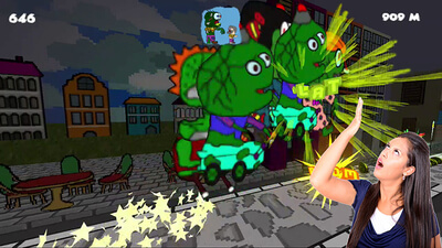 Zombie Brigade: No Brain No Gain Screenshot 2