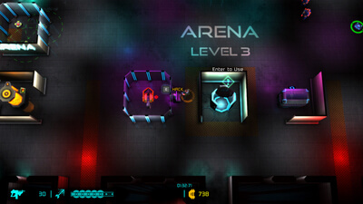 Neon Chrome: Arena Screenshot 2