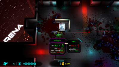 Neon Chrome: Arena Screenshot 1