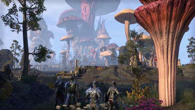 The Elder Scrolls Online: Morrowind Masthead