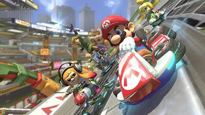 Mario Kart 8 Deluxe Screenshot 1