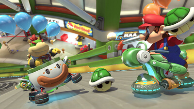 Mario Kart 8 Deluxe Screenshot 2
