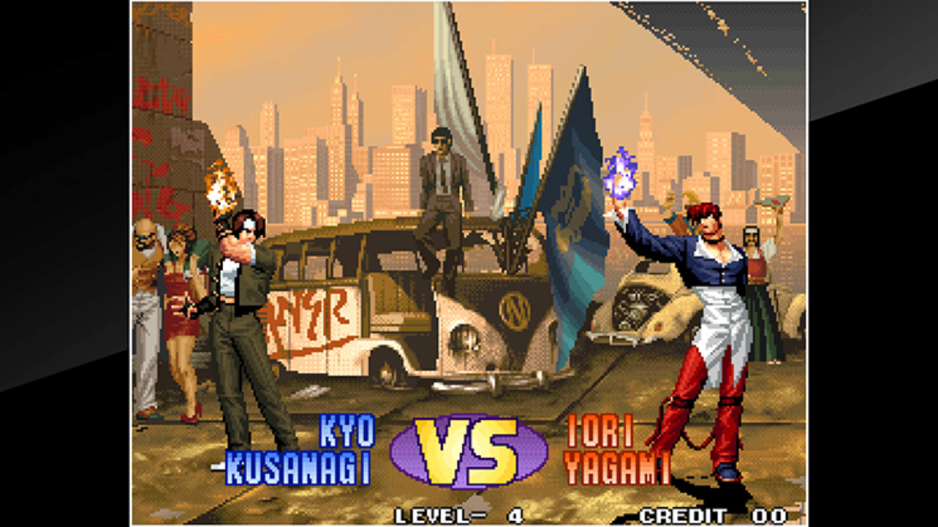 ACA NEOGEO THE KING OF FIGHTERS '98 Masthead