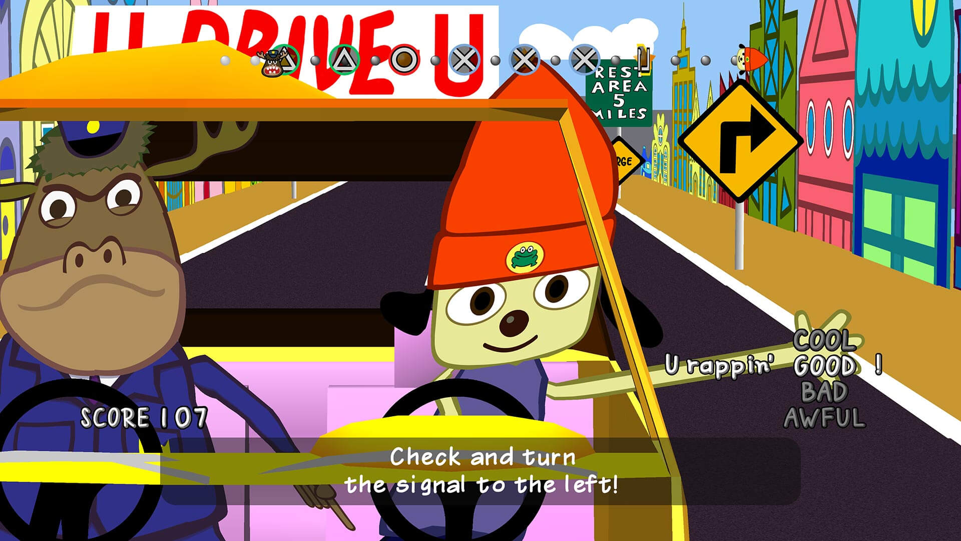 Parappa The Rapper Remastered Masthead