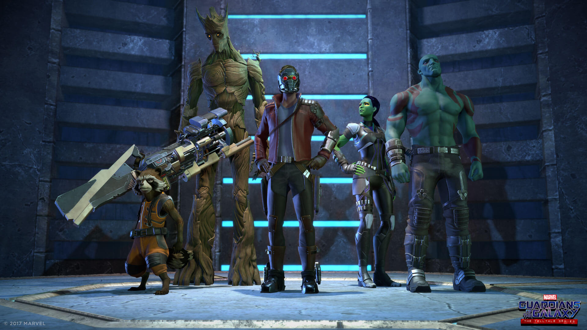 Marvel's Guardians of the Galaxy - Episode 1: Tangled Up in Blue Masthead