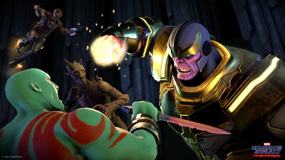 Marvel's Guardians of the Galaxy - Episode 1: Tangled Up in Blue Screenshot 2