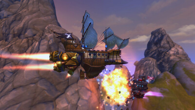 Cloud Pirates Screenshot 2
