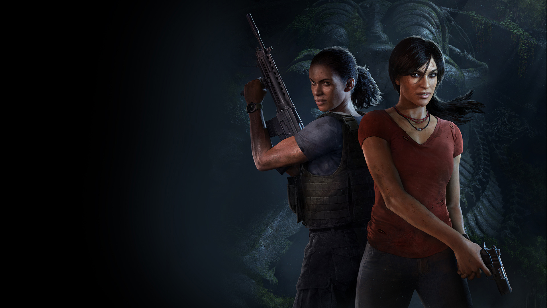 Uncharted: The Lost Legacy Masthead