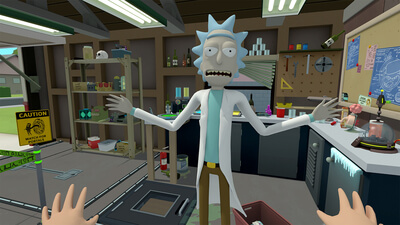 Rick and Morty: Virtual Rick-ality Masthead