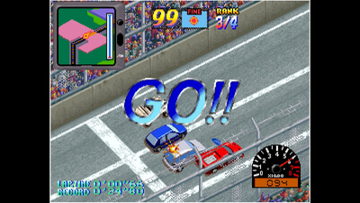 ACA NEOGEO OVER TOP Screenshot 3
