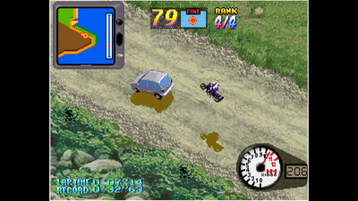 ACA NEOGEO OVER TOP Screenshot 2
