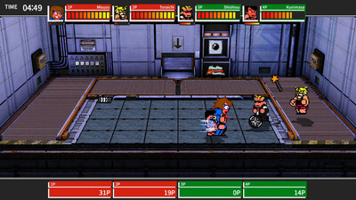 River City Melee: Battle Royal Special Screenshot 2