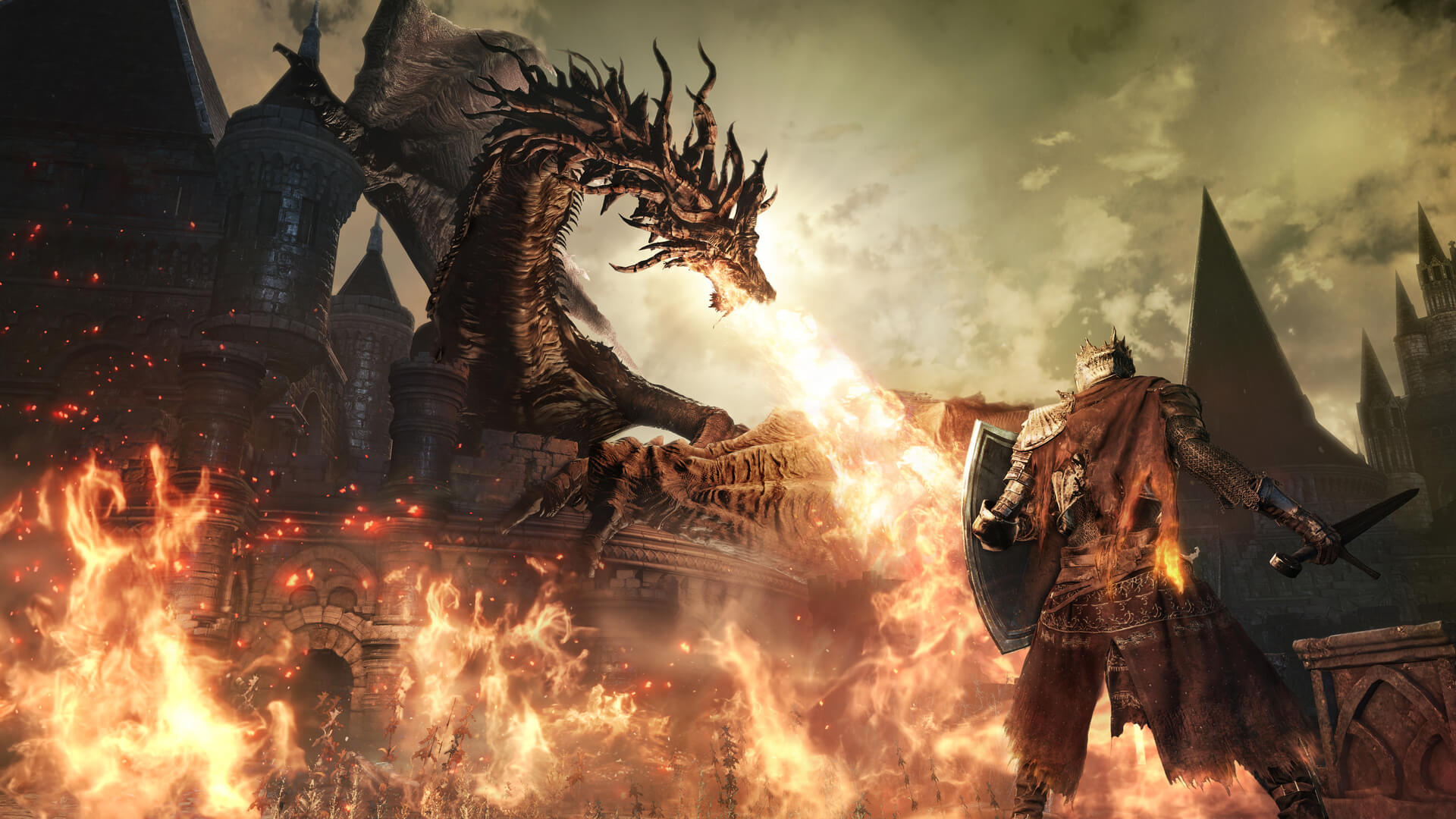 Dark Souls III: The Fire Fades Edition Masthead