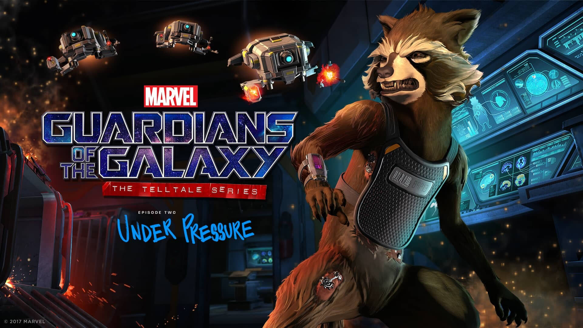 Marvel's Guardians of the Galaxy - Episode 2: Under Pressure Masthead
