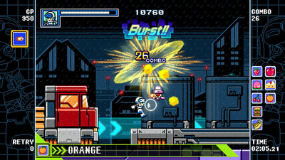 Mighty Gunvolt Burst Screenshot 1