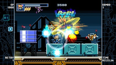 Mighty Gunvolt Burst Screenshot 2