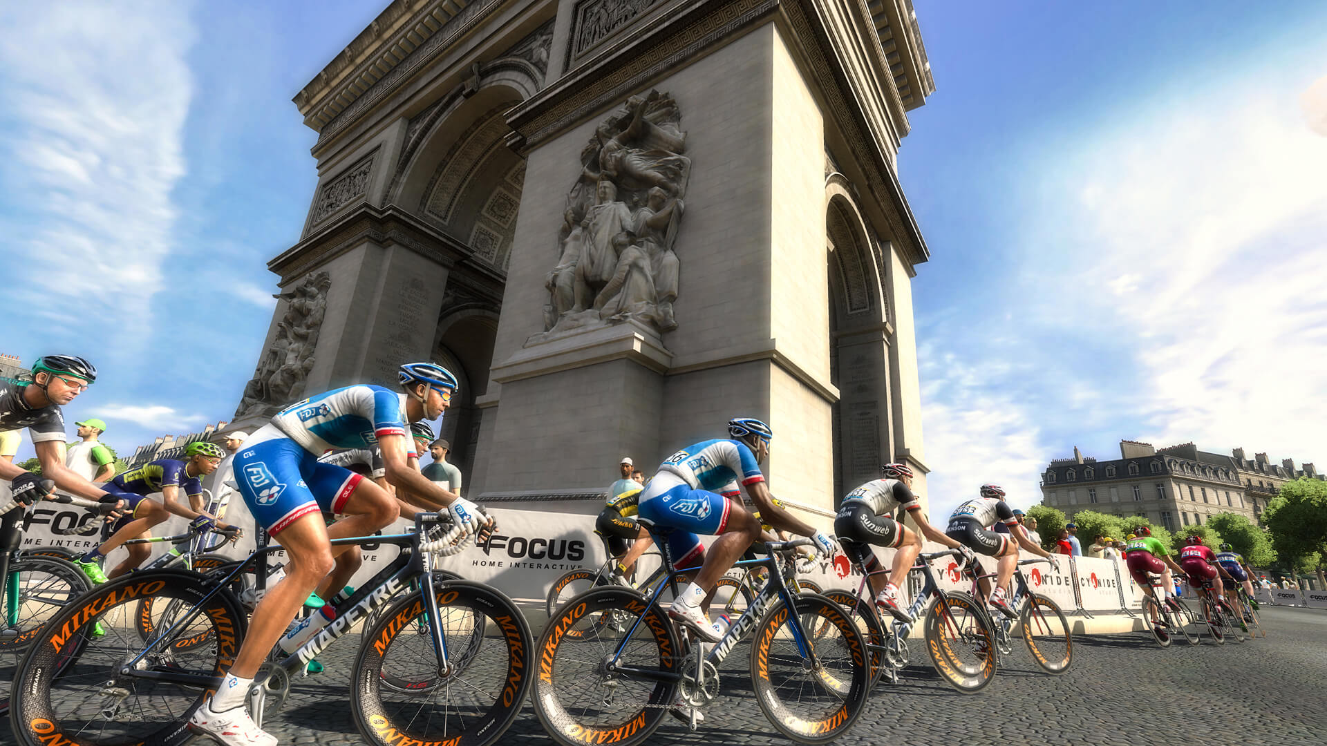 Pro Cycling Manager - Tour de France 2017 Masthead