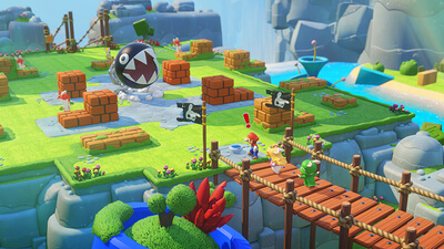 Mario + Rabbids: Kingdom Battle Screenshot 1