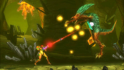 Metroid: Samus Returns Screenshot 1