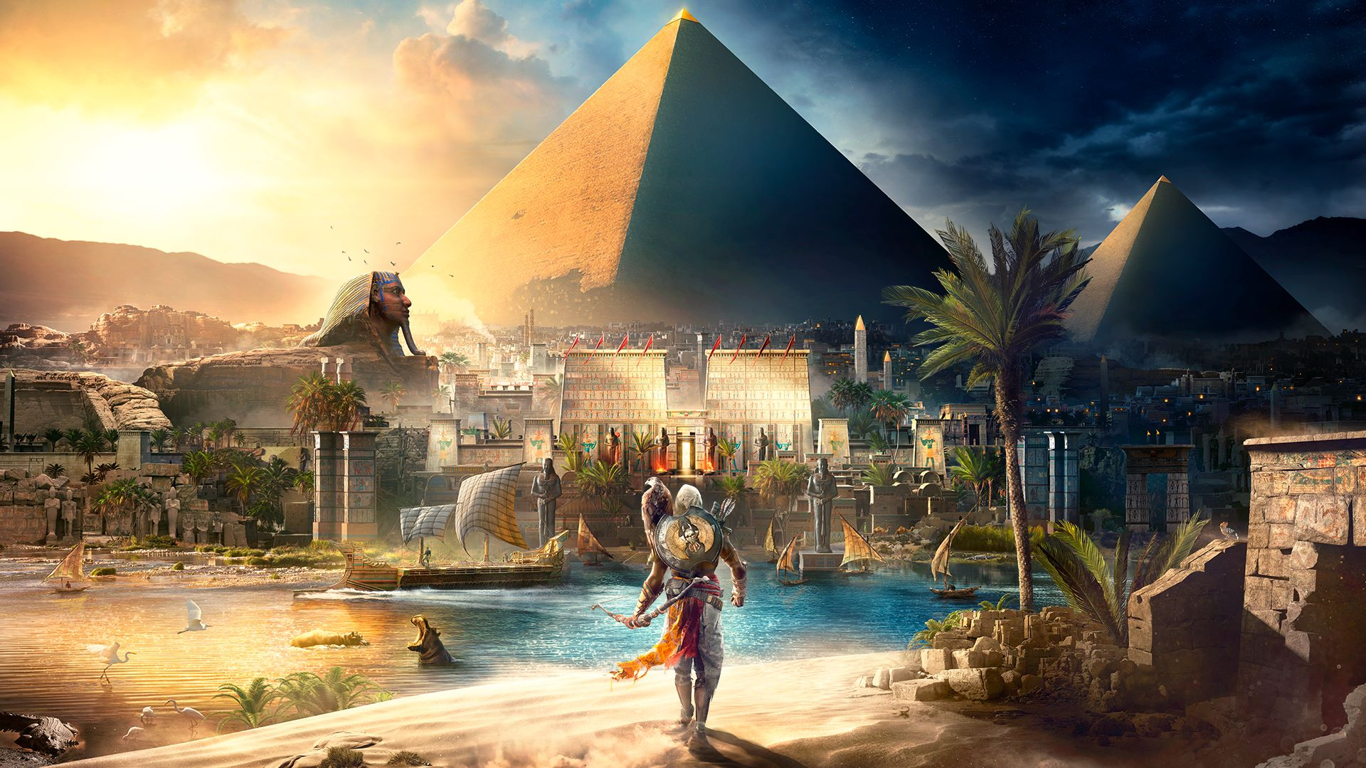 Assassin's Creed Origins Masthead