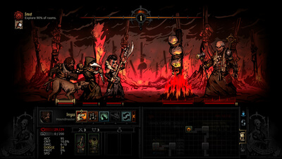 Darkest Dungeon: The Crimson Court Screenshot 2