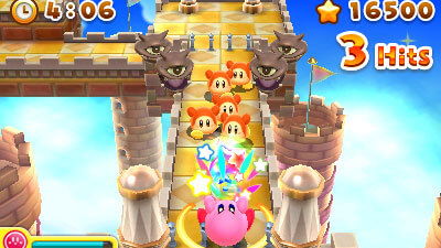 Kirby's Blowout Blast Screenshot 2