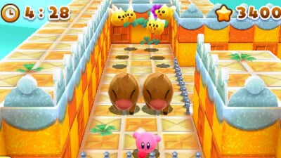 Kirby's Blowout Blast Screenshot 1