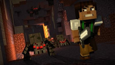 Minecraft: Story Mode - Season Two, Episode One Screenshot 1