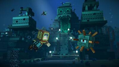 Minecraft: Story Mode - Season Two, Episode One Screenshot 2