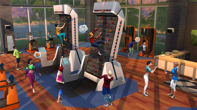 The Sims 4: Fitness Stuff Screenshot 1