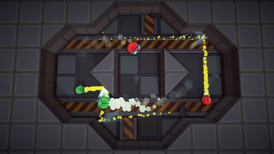 Rocket Fist Screenshot 1