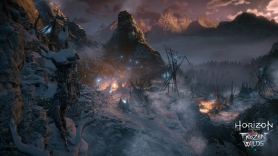Horizon Zero Dawn: The Frozen Wilds Masthead