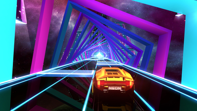 Neon Drive Screenshot 2