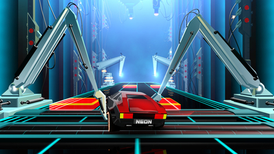 Neon Drive Screenshot 8