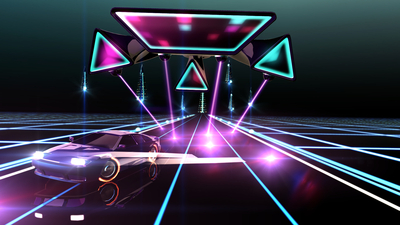 Neon Drive Screenshot 4