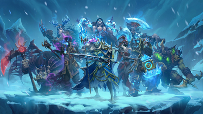 Hearthstone - Knights of the Frozen Throne Masthead