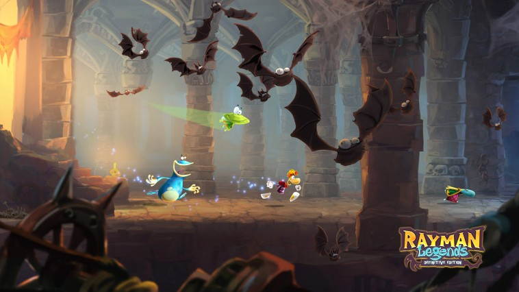 Rayman Legends: Definitive Edition Masthead