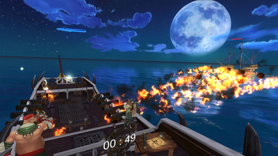 Heroes of the Seven Seas Screenshot 4