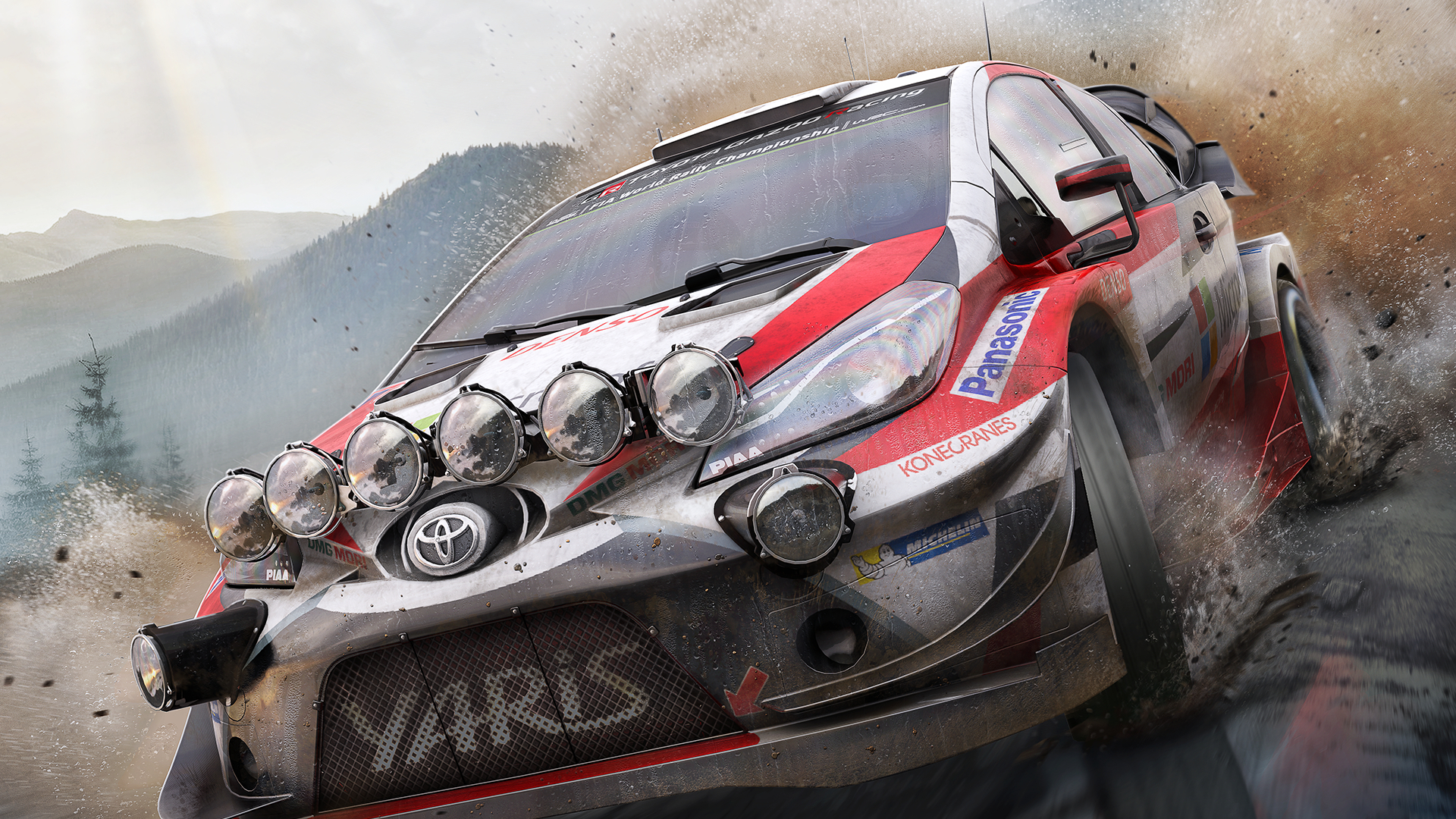 WRC 7 FIA World Rally Championship Masthead