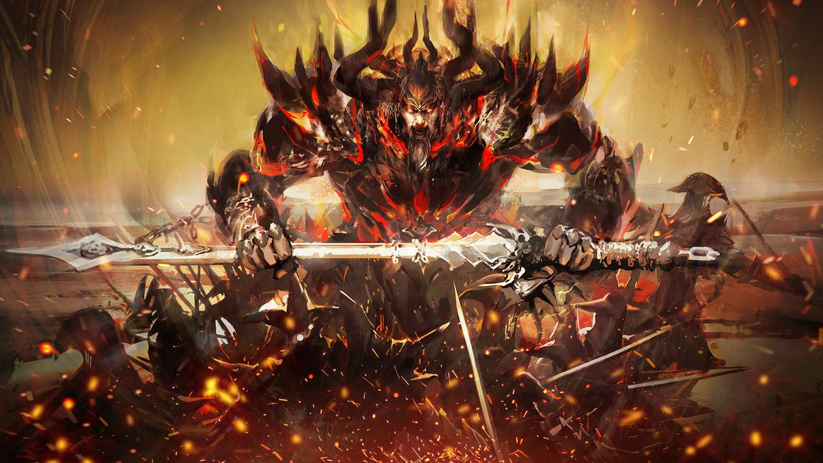 Guild Wars 2: Path of Fire Masthead