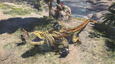 Monster Hunter World Screenshot 3