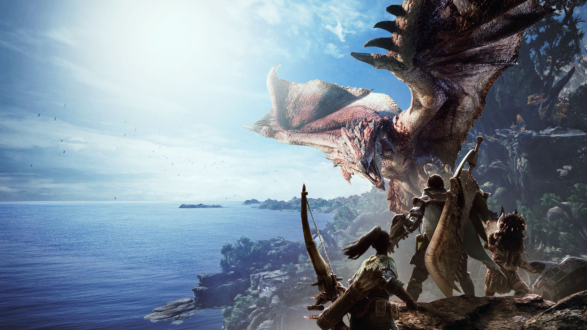 Monster Hunter World Masthead
