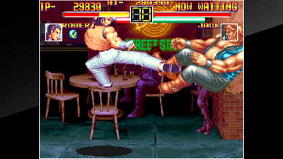 ACA NEOGEO Art of Fighting Screenshot 2